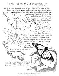 How To Make Worksheets How To Draw Worksheets For The Young Artist How To Draw A Monarch