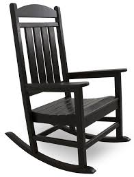 Jefferson Rocking Chair Presidential Recycled Plastic Rocking Chair