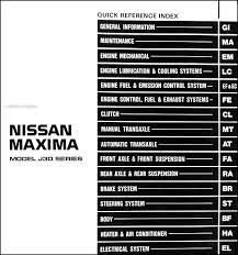 1990 nissan maxima repair shop manual original