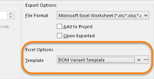 Bill Of Materials Excel Template Bill Of Materials Bom Documentation For Altium Products