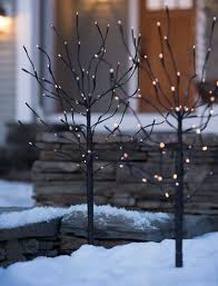 Outdoor Christmas Decor Battery Operated by 19 Best Outdoor Christmas Tree Decor Images On Pinterest Outdoor