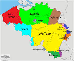 belgium language map languages of belgium sb language maps