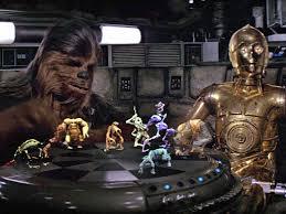 star wars u0027 fan makes a working holochess table from scratch