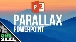 how to create parallax effect in powerpoint youtube