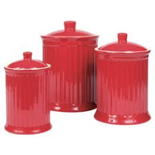 red canisters kitchen decor red ceramic canisters fabuloushomeblog comfabuloushomeblog com
