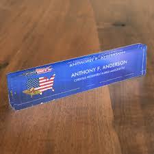 Custom Desk Plates Military Desk Name Plates Zazzle