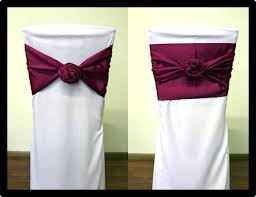 chair ties chair sash all rentals