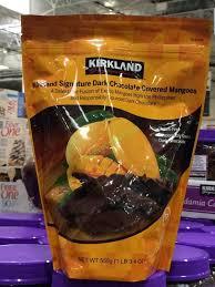 kirkland signature chocolate mangos 19 4 ounce bag costcochaser