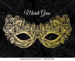 beautiful mardi gras masks vector illustration mardi gras mask on stock vector 488361349