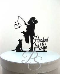 fishing wedding cake toppers astonishing fishing wedding cake toppers 15 for simple wedding