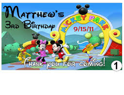 mickey mouse clubhouse birthday invites mickey mouse clubhouse accessories afoodaffair me