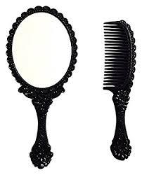 vintage comb inpouch vintage style mini held mirror comb set