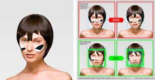 understanding the relation between face shape and hairstyle cv dazzle u2013 adam harvey
