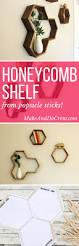 Diy Honeycomb Shelves by 325 Best Decor Shelving Images On Pinterest Home Pallet Ideas