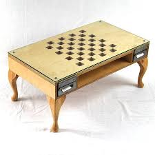 furniture chess coffee table design ideas light brown rectangle