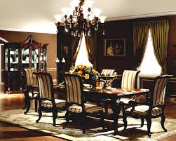 classic dining room sets with wooden table and chairs also cool