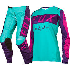 motocross gear for girls fox 2017 mx new 180 purple pink seafoam jersey pants womens