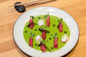 when japan met peru tiradito is a way of serving fish that