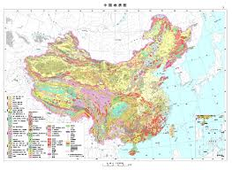 Maps Of China by Geological Map Of China 1979 Full Size