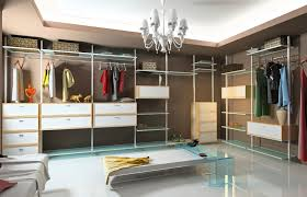 fancy modern walk in closet decoration using light grey closet