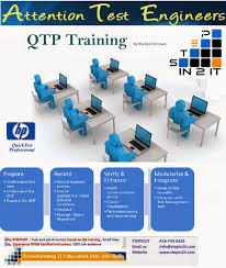 Qtp Resume Qtp Training Brampton