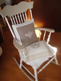cuscini per sedia a dondolo la gatta e il gufo le nostre creazioni