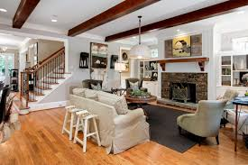 tray ceiling design ideas for country style living room with