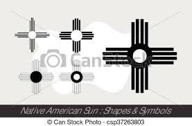 sun symbols vector illustration vector clipart