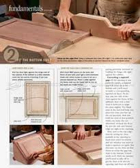 Cabinet Door Plans Woodworking Making Curved Molding Furniture Molding Construction Techniques