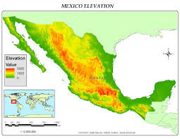 The Map Of Mexico by Gis 4043 L Week 3