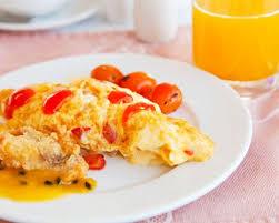 comment cuisiner les tomates s h s recette omelette à la tomate
