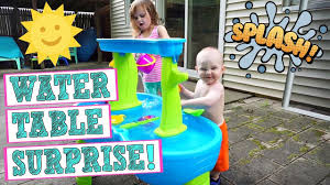 step 2 rain showers splash pond water table surprise new step2 rain showers splash pond water table august