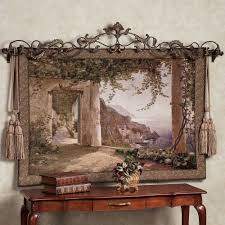 home decor tapestry amalfi dai cappuccini wall tapestry
