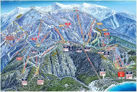Big Sky Montana Trail Map by Heavenly California Ski North America U0027s Top 100 Resorts Project