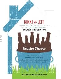 Couple Shower Invitations Couples Wedding Shower Invitations By Wedding Paperie