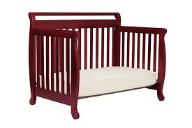 Convertible Cribs With Toddler Rail by Amazon Com Davinci Emily 4 In 1 Convertible Crib In Rich Cherry