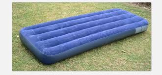 intex inflatable classic airbed camping mats single air bed