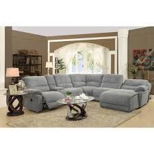 Gray Sectional Sofa With Chaise Lounge by Gray Sectional Sofa Microfiber Militariart Com