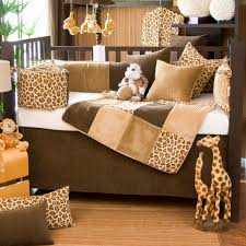 Cheetah Print Crib Bedding Leopard Print Nursery Bedding Thenurseries