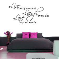 quotes wall stickers typographic stickers live laugh love wall sticker large