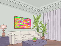 livingroom cartoon how to design a living room 11 steps with pictures wikihow