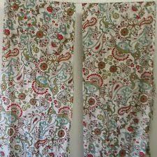 Worldmarket Curtains World Market Floral 100 Cotton Curtains Drapes U0026 Valances Ebay