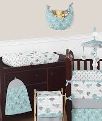 earth and sky baby bedding 9pc crib set by sweet jojo designs