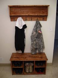 Entryway Bench Coat Rack Entryway Bench And Coat Rack Step Halicio