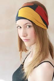 hippie headband workout headband fabric headband exercise headband stretchy