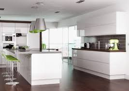 Replacing Kitchen Cabinet Doors by High Gloss White Handleless Replacement Kitchen Doors And Drawers