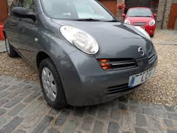 nissan grey nissan micra 1 2 s 3 door hatchback 1 2 petrol 2005 grey met full