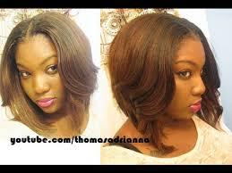 utube bump hair in a bob middle part bob cheap hair lol youtube