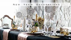 new year s decor diy new years decorations easy black gold theme