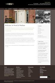 wood wisdom web consultancy we also introduced more calls to arms on the website to encourage visitors to enquire about the products and services on offer with this the site can help